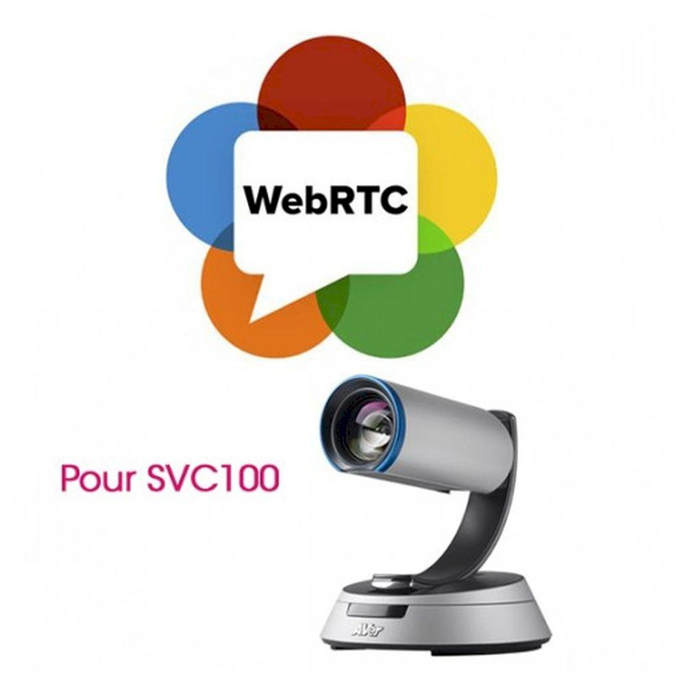 WebRTC License (SVC only)Support Chrome & Firefox
