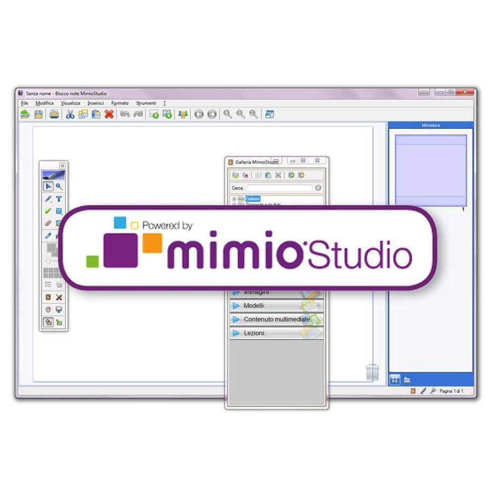 Licenza Mimio Studio Perp (2 Dev) DVD